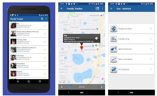 GPS Phone Tracker App 14