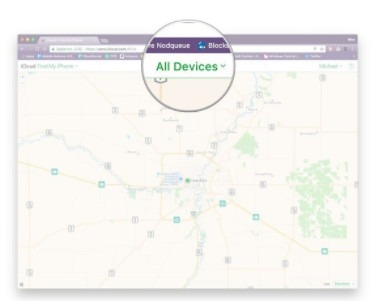 Track an iPhone via Find My iPhone
