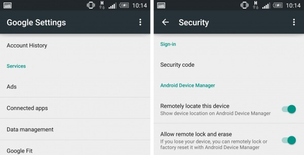 Track an Android Phone via Find My Device