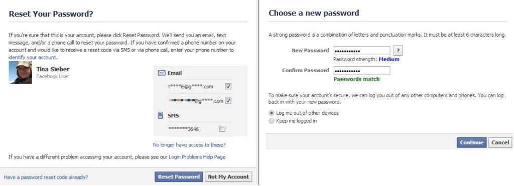 hack Facebook Forgot Password