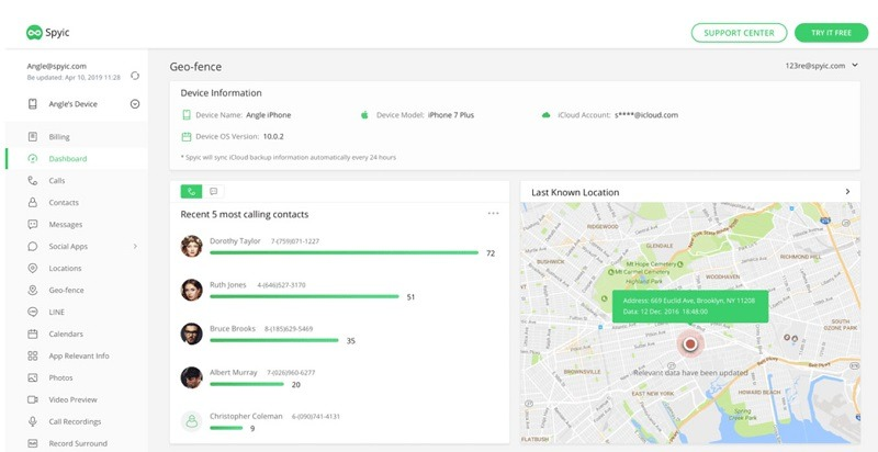 Android Spy App - Spyic