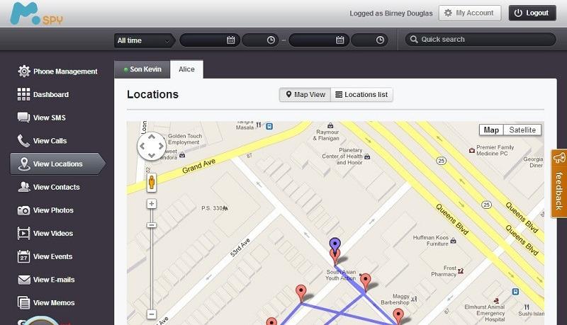Android Spy App - mSpy