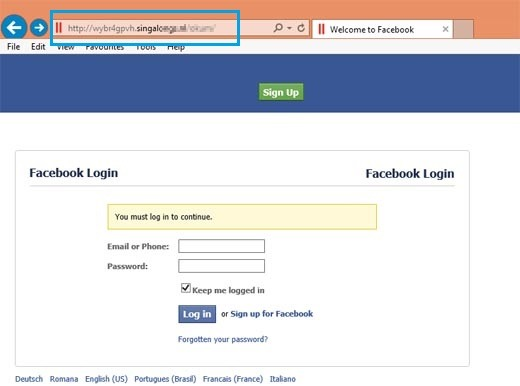 Creating a Phishing page