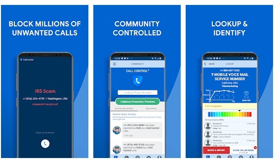 Truecaller for blocking phone numbers