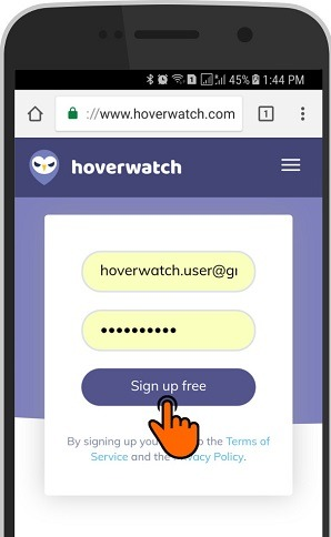 Get your Hoverwatch account