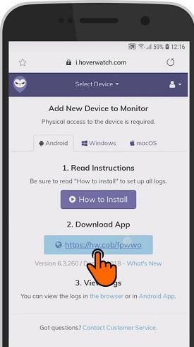 Install hoverwatch whatsapp spy too;