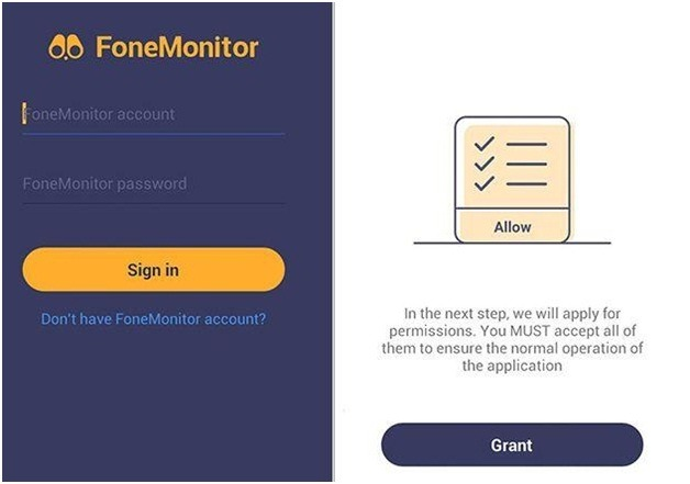 fonemonitor free android spy install app