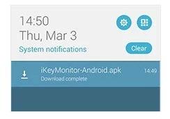 Install the ikeymonitor app 1