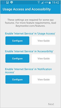 enable ikeymonitor accessibility