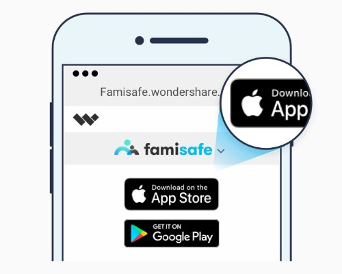 Track iPhone Location using FamiSafe
