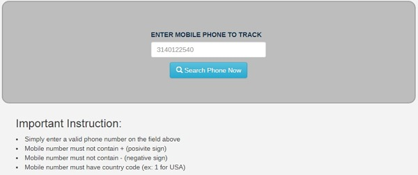 Track iPhone Location by IMEI Number