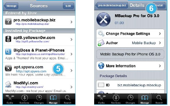 download the iPhone spyware package