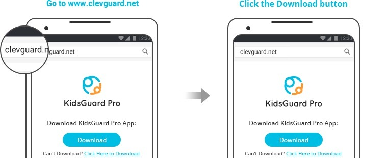 phone clone with KidsGuard Pro
