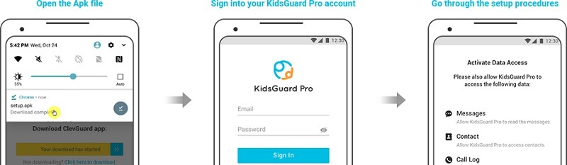 iphone clone with KidsGuard Pro
