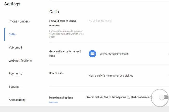Google Voice - Step 3