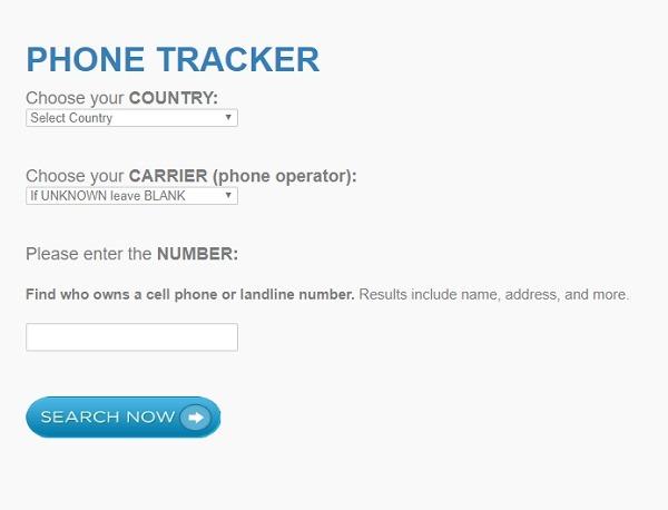 Online GPS Phone Tracker