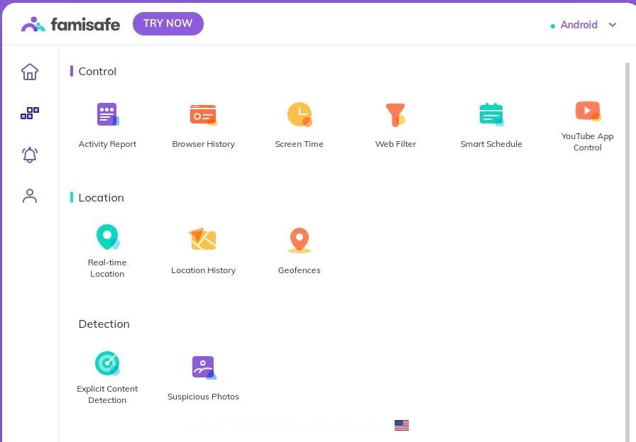 tracking app-FamiSafe
