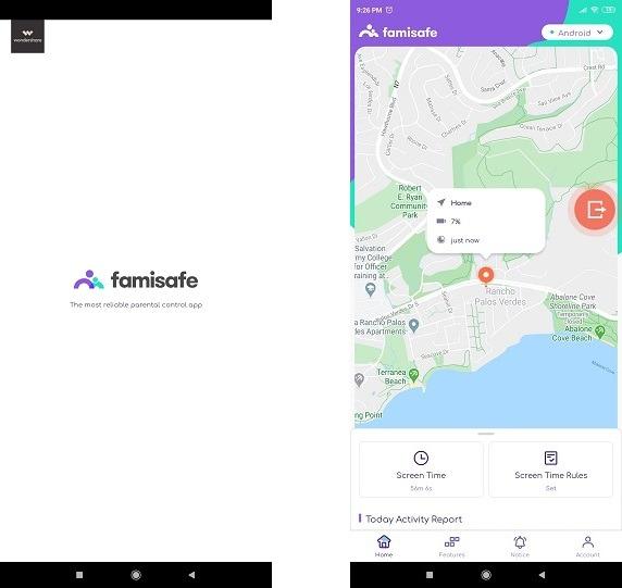 Famisafe Phone Tracker App