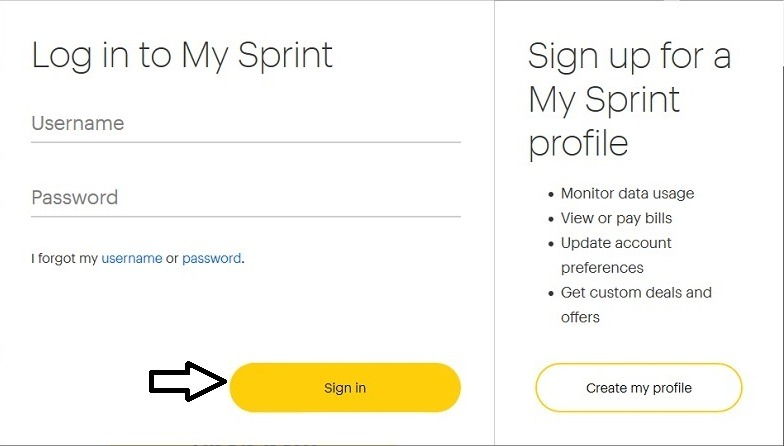 view My Sprint Account Call Log