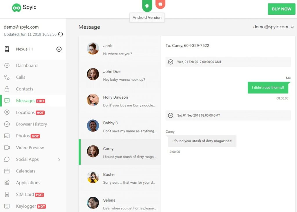 tracking app-Spyic