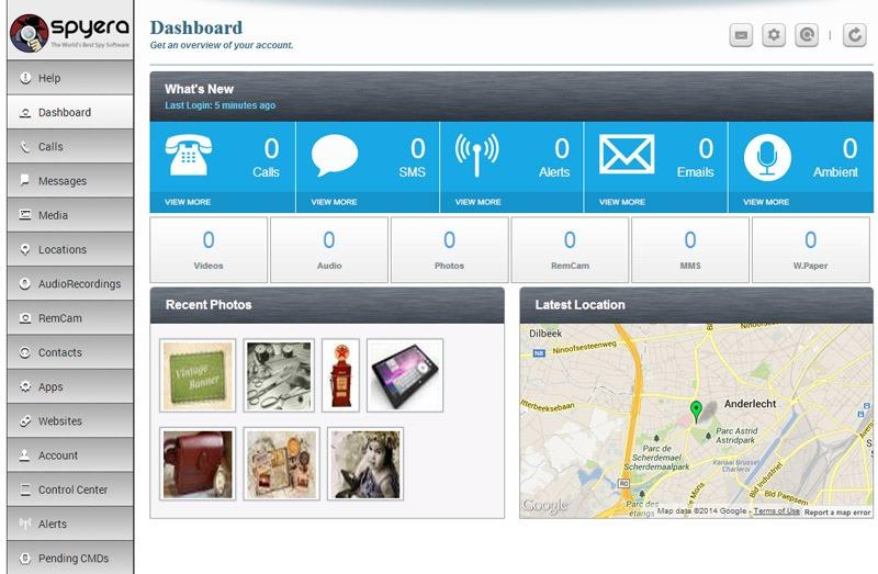 SPYERA tracking app