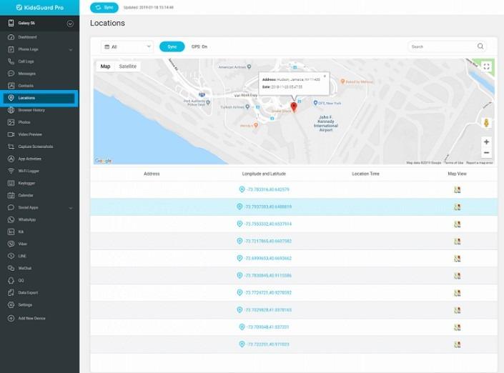 KidsGuard Pro Tracker App