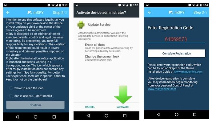 track device with Spy Phone App alternative